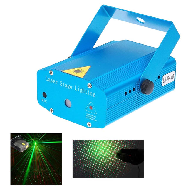 Mini projecteur laser automatique/son