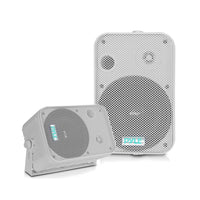 "Pyle 6.5"" Indoor/Outdoor Waterproof Speakers (White)"