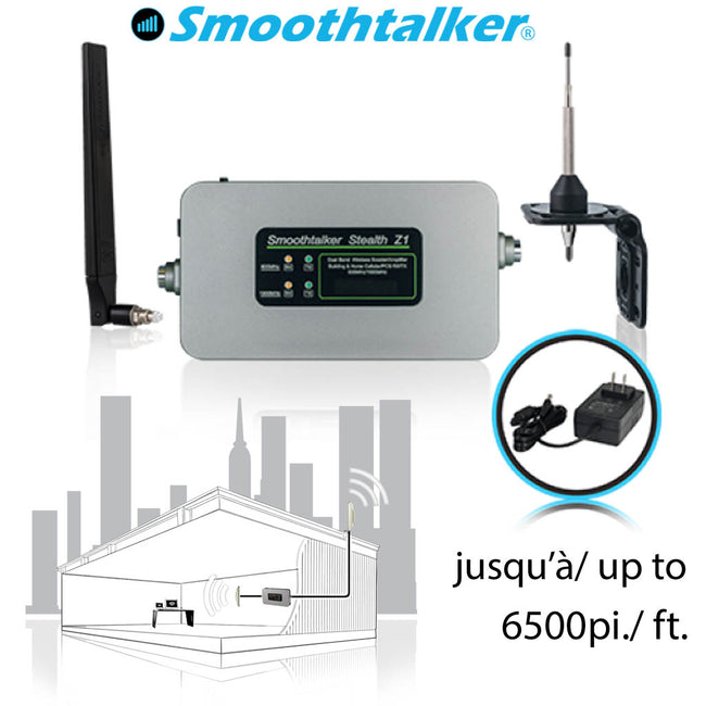 Stealth Cellular Signal Booster Kit  Z1-65 (F)