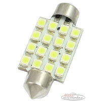 Ampoule DEL 12V dome 16 SMD (41mm)