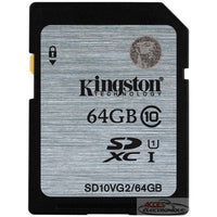 Kingston SD Memory Class10 64Gb
