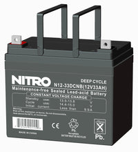 12vdc/ 33ah Rechargeable Battery