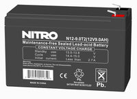 Rechargeable Battery 12vdc/ 9ah