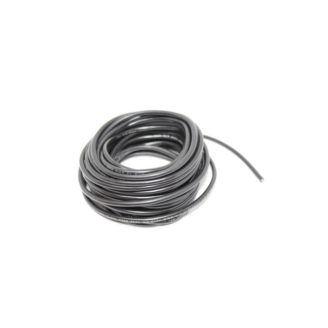 Tew Wire 1/12 Black 25ft