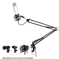 Suspension Boom Scissor Microphone Stand