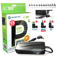 Prudent Way Universal Notebook Power Adapter AC90SE 90W 12 to 24V