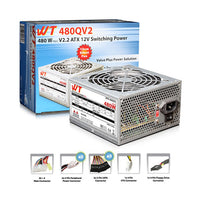 WT Power Supply ATX 480QV2 480W