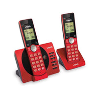 VTech Wireless Phone CS6929 2 Handset Red