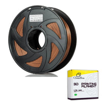 Clonebox Filament PLA 3D 1.75mm 1kg, precision +/- 0.05mm, Copper