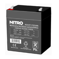Rechargeable Battery 12volt 4A/hour