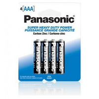 Panasonic AAA Batteries Heavy Duty - 4 pieces