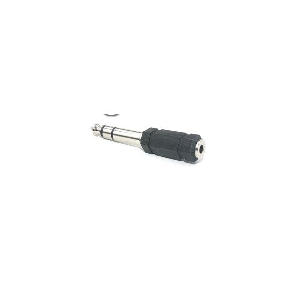 Stereo Adapter Female 1/8in to Stereo Male 1/4in