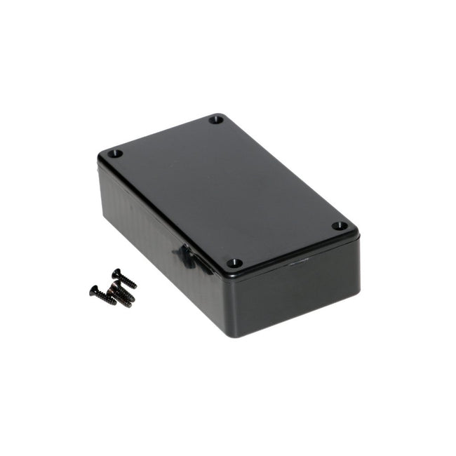 Plastic Box 1591ASBK Black