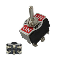 Toggle Switch DPDT 10A/250v On/Off/On 6pins