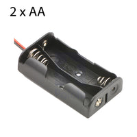 Battery Holder for 2 x AA with leads