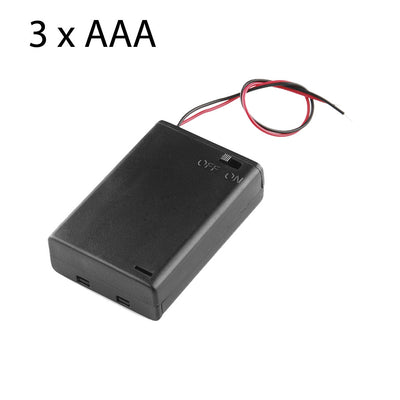Battery holder 3 x AAA with leads