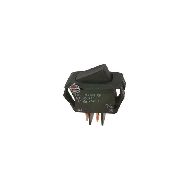 Black Momentary Rocker Switch