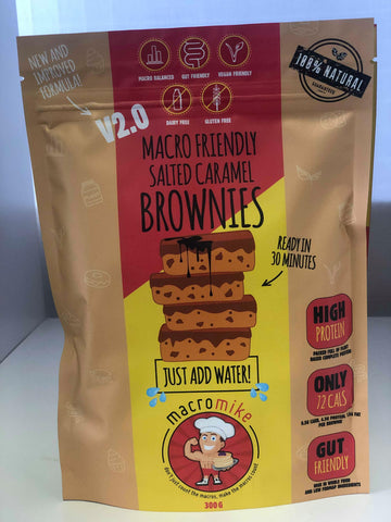 MACRO MIKE - V2 Salted Caramel Brownies - 300g