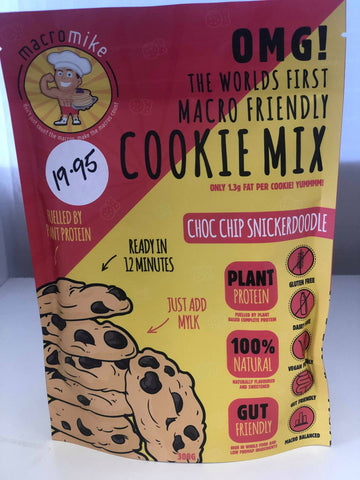 MACRO MIKE - Snickerdoodle Choc Chip Cookies 300g