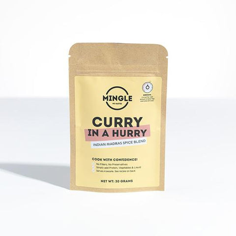 MINGLE - CURRY IN A HURRY SPICE BLEND 30g