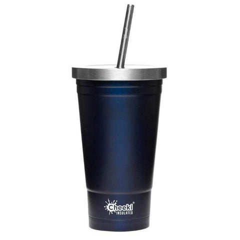 CHEEKI - Tumbler with S/steel Straw 500ml