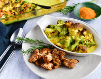 MINI MEAL Turmeric-Rosemary Superfood Veg with Smokey Chicken