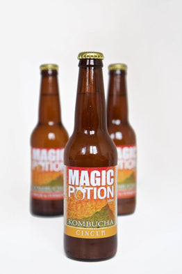 Magic Potion Kombucha 330ml - GINGER-TURMERIC