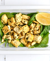 SIDE Organic Grilled Tofu with Herbs and Garlic