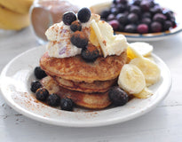 BREAKFAST Almond&Coconut Protein Pancakes