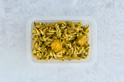 SIDE Wholemeal Pasta, Sweet Veggies, Walnuts & Vegan Pesto