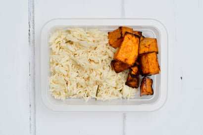 SIDE Basmati Pilaf with Roasted Pumpkin