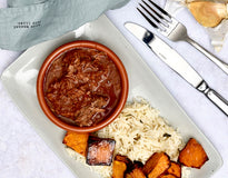 MINI MEAL Texas Slow-Cooked Beef with Basmati Pilaf & Pumpkin