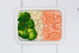 VEG MINI MEAL Balinese Style Organic Tofu Curry, Coconut Rice & Broccoli