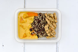 VEG Fragrant Pumpkin Curry, Quinoa & Black Rice - Balinese Organic Tempeh