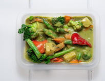 SIDE Pineapple and Green Veggie Thai Curry