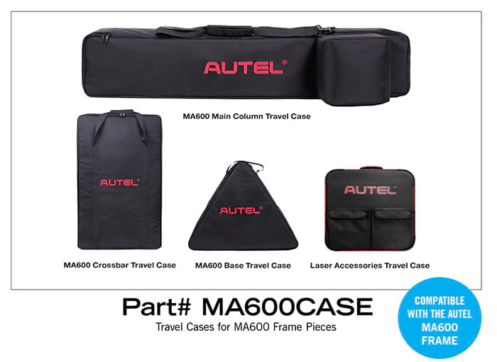 Autel MaxiSYS ADAS MA600CASE Travel Cases for MA600 Frame Pieces