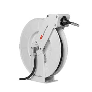 Samson 504 350 - Full Metal Reel HD Double Pedestal Hose Reel