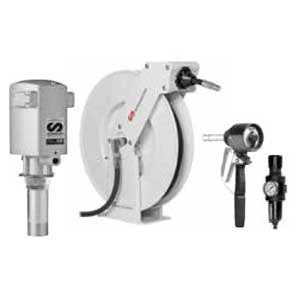 Samson 900 442 - PM35 5:1 Pump Package with Single Arm Hose Reel