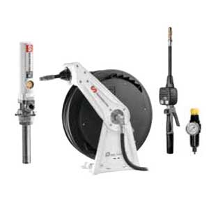 Samson 900 340 - PM2 3:1 Pump Package with Single Arm Hose Reel