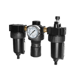 "Samson 983 - 1/4"" Filter, Regulator, Lubricator With Auto Drain"