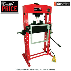 AFF 854ASD - 50 TON Super Heavy Duty Shop Press