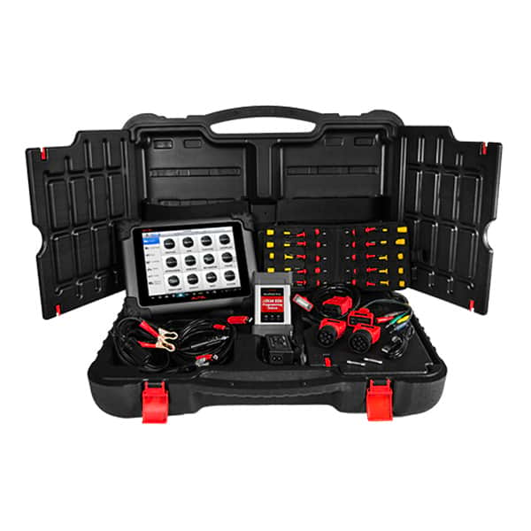 Autel MaxiSys MS908CV HD Fleet MaxiFlash Elite Programming and Scan Tool in Diagnostic Automotive Tools