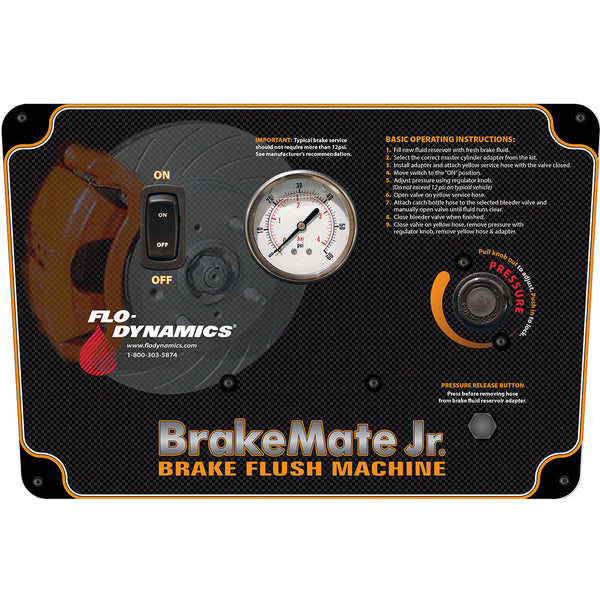 Flo Dynamics 98003 Brakemate Jr Brake Flushing Machine No