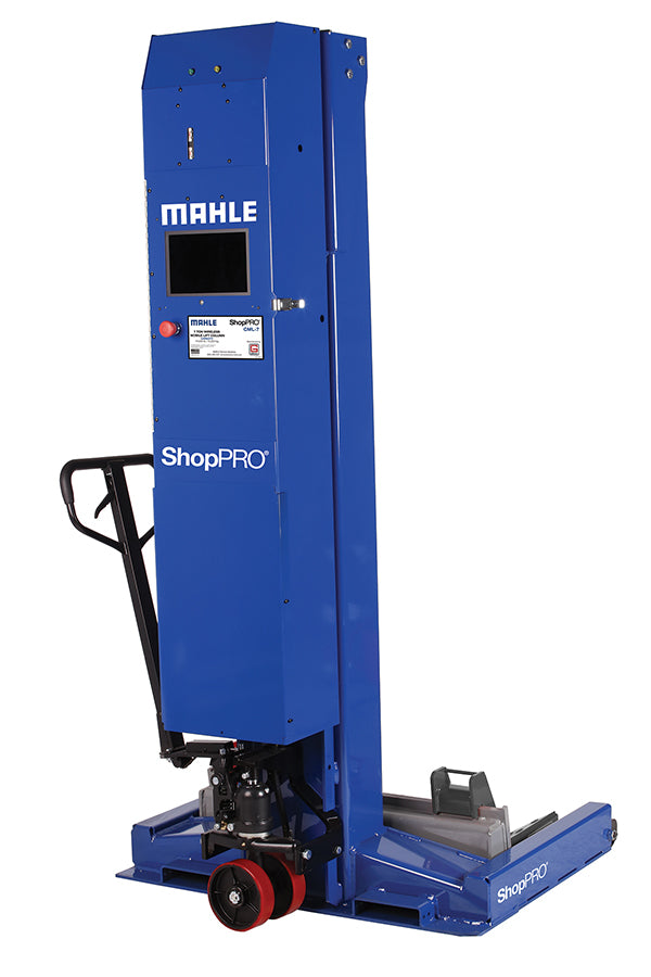 Mahle CML-9Wx6 - 57 ton Commercial Vehicle Mobile Column Lift - Wireless\Wide Base (Set of 6)