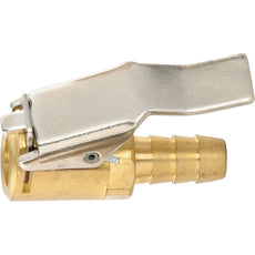 "PCL CO8H72 Lock-On Air Chuck, 1/4"" Hose Barb Inlet, Open Chuck"