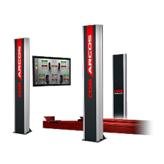 Cemb Argos Revolutionary Clampless Wheel Alignment Machine System.