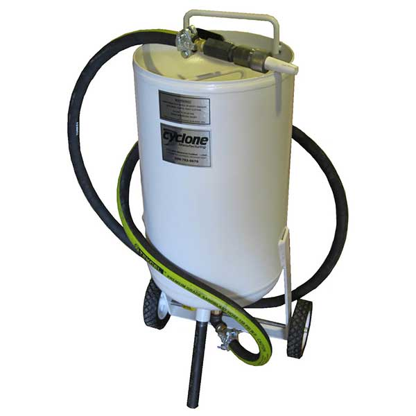 Cyclone PT-100 Direct Pressure Blast Pot Sandblaster