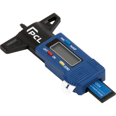 "PCL DTDG1D04 Digital Tread Depth Gauge 0-1"" In 1/64 Or 0.0005"" Divisions"