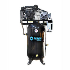 Mega Power MP-7580VM10U 7.5HP Vertical Air Compressor w/ Mag Starter Two Stage