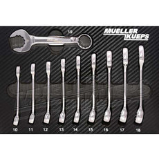 Mueller-Kueps 711 100 Combination Wrench Kit